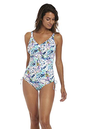 Fantasie Fiji Underwire V-Neck One Piece Swimsuit (FS6548) 42F/Multi