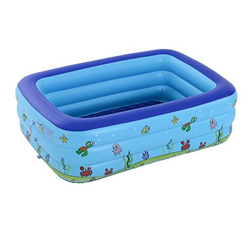 YTREDF Niños Piscina Inflable Material plástico Ideal para bebés y niños y niñas pequeños PVC, Durable y Seguro para Niños, Adultos, Familias, Parque Acuatico,1.5m