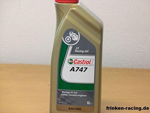 Castrol A747 Racing 2-Takt Öl - Hochleistungsmotoröl - nicht mit konventionellem Öl Mischbar