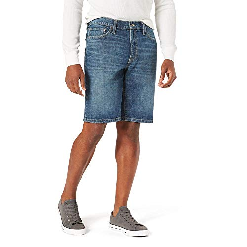 Signature by Levi Strauss & Co. Gold Label Men's Jean Shorts, 40W, Ozzy