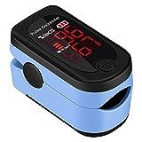 Mpow Dedo Oxímetro de Pulso, Pulsioxímetro de Dedo Pulsómetro Digital, Lector de Pulso Digital de Lectura Instantánea, Sensor de Oxígeno y Monitor de Frecuencia de Pulso