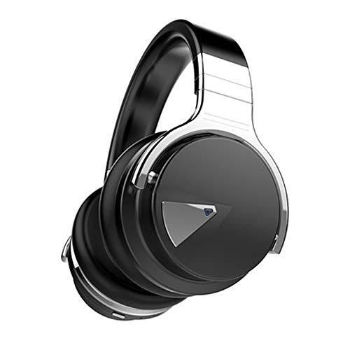 Auriculares inalámbricos Bluetooth, inalámbricos y con cable, cancelación de ruido activa, almohadillas de felpa para PC/teléfonos celulares/TV/Ipad-1