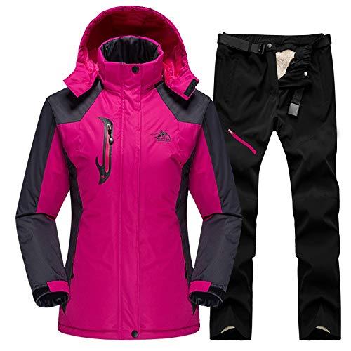 OMING Tute da Sci 2020 Sci Snowboard Vestito for Le Donne Vestito Esterna Impermeabile...