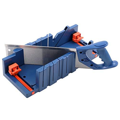 Zebery boîte à onglets de serrage, Boîte de scie à onglet réglable pour couper les plinthes