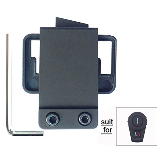 Free dconn Micrófono altavoz fijo Cable Auricular para motocicleta de botes de casco Bluetooth manos Intercom