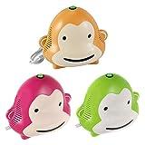Omnibus Monkey Milo - Nuevo inhalador para niños Aparato para medicamentos líquidos con...