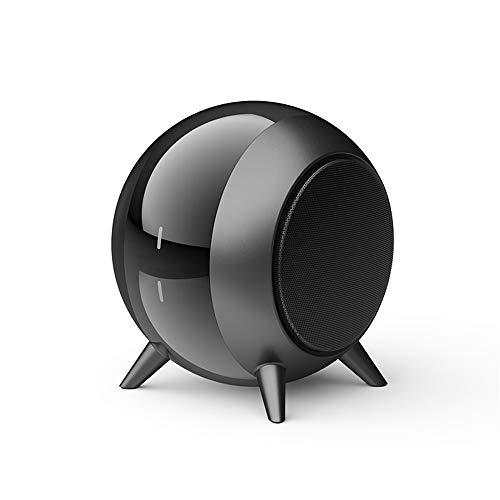 DAXGD Altavoces portátiles Bluetooth 5.0, Altavoz inalámbrico Bluetooth, 6 Horas de reproducción, Distancia de transmisión de 10 m (Negro)