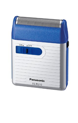 Panasonic Men's Shaver for Traveler ES-RS10-A Blue | DC3V (2 x AA...