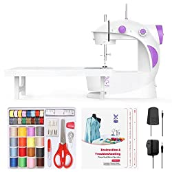 small Varax mini sewing machine with extension table
