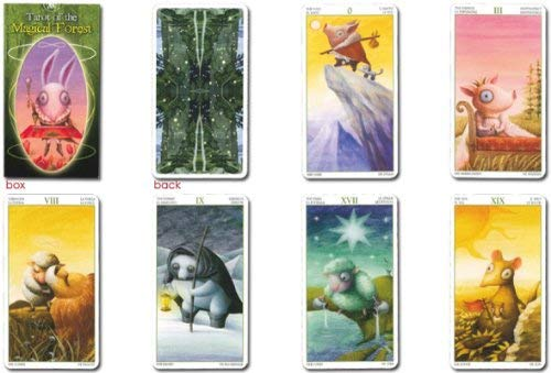 タロットカード 78枚 ライダー版 タロット占い 【タロット オブ マジカル フォレスト Tarot of the Magical Forest 】日本語解説書付き [正規品] 商品名