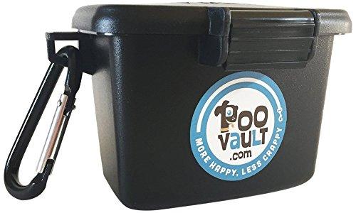 PooVault Odor Free Dog Poop Bag Holder, Made in USA