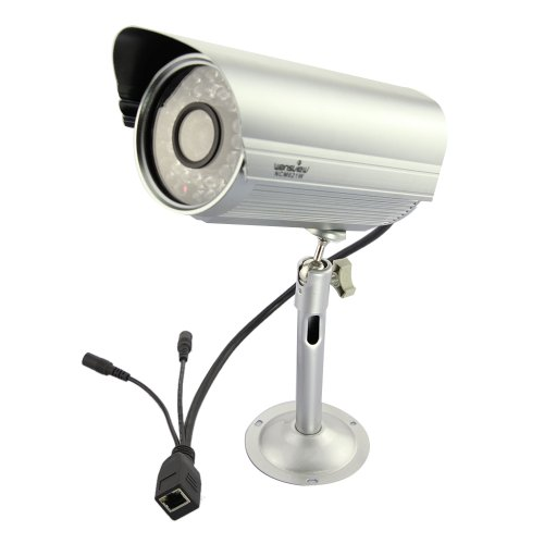 Wansview NCM621W H.264 Mega Pixel Outdoor Wireless WIFI IP Camera 8mm Support TF Card