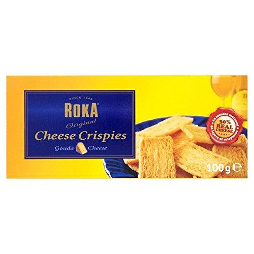 ROKA Feuilletés Au Fromage 100G - Paquet de 6