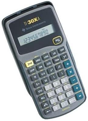 TI-30XA Ranking integrated 1st place Popular shop is the lowest price challenge - Calculator