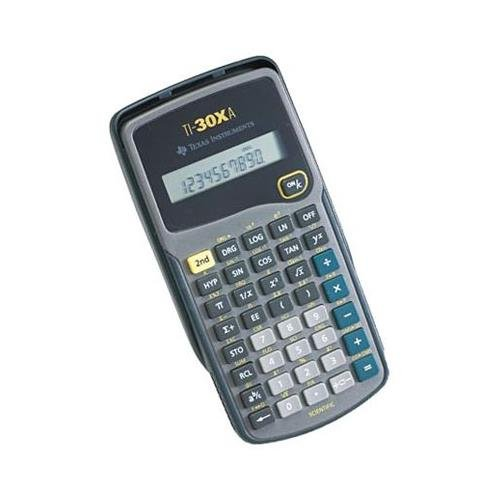 ti 30xa calculator - 7