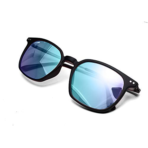 Color Blind Glasses for People with Red Blindness, Color Vision Disorder, Color Weakness, Purple Blue Lens.