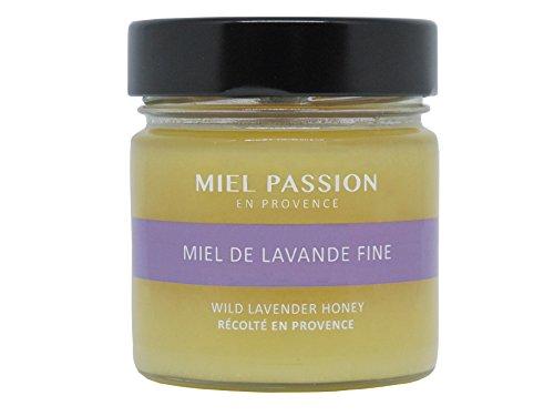 MIEL PASSION Miel de Lavanda Fina, Miel de Francia cosechada en Provenza - Set de 3 jarras de 270g