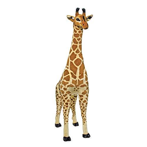 Melissa & Doug Giant Giraffe - Lifelike Stuffed Animal (over 4 feet tall)
