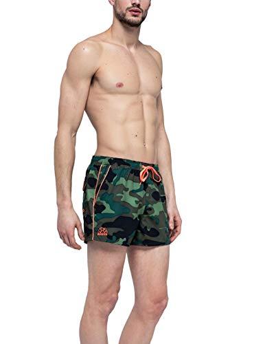 SUNDEK Pantaloncino Mare Costume Uomo Deep Forest M700BDP0153