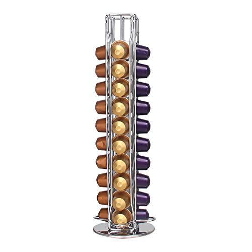 Wdmiya Soporte para cápsulas de café para Nespresso-40 pcs, Soporte para cápsulas de café, cajón de Almacenamiento de cápsulas de café para cápsulas