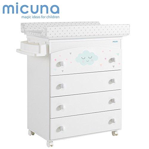 Micuna Lili - Bañera, unisex, color blanco