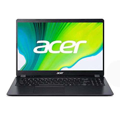"Acer Aspire 3 A315-56 - Ordenador Portátil de 15.6"" Full HD con Intel Core i5-1035G1, RAM de 12 GB, SSD de 512 GB, UMA, Windows 10 Home, Color Negro - Teclado Qwerty Español"