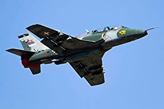 Posterazzi Poster Print Collection a Serbian Air Force Soko G-4 Super Galeb Anton Balakchiev/Stocktrek Images, (17 x 11), Multicolored