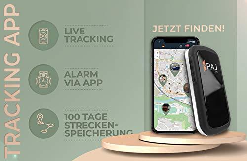 Allround Finder von PAJ GPS Tracker zur Live Ortung von Personen und Fahrzeug KFZ mit bis zu 30 Tagen Akku Abbildung 3