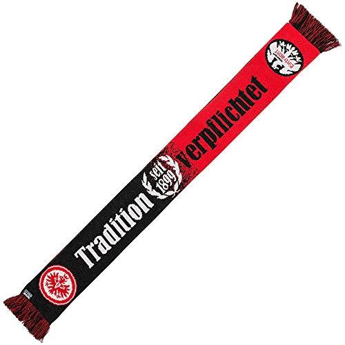 Eintracht Frankfurt Schal - Tradition verpflichtet seit 1899 - Fanschal, Scarf SGE - Plus Lesezeichen I Love Frankfurt