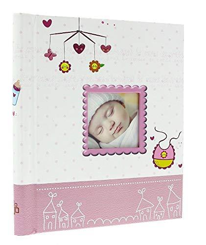 Kleine prijs groot zelfklevend fotoalbum 20 vellen / 40 zijdes baby meisje verjaardag Keepsake cadeau