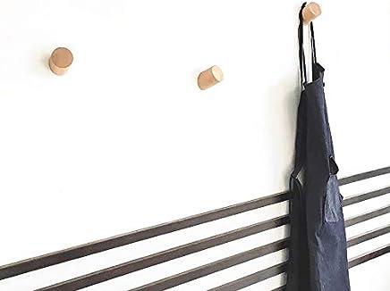 Appendi Giubbotti Moderni.Amazon It Appendiabiti Da Muro Moderni Ganci Appendi Cappotto