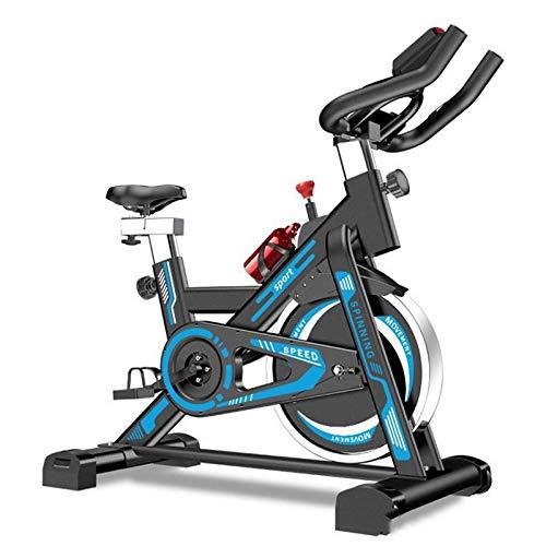 MGYQ Allenamento Spin Bike Professionale Cyclette per Allenamento Fitness con Cardiofrequenzimetro E Software di Monitoraggio