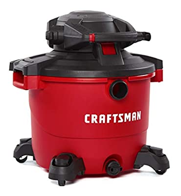 CRAFTSMAN CMXEVBE17606 12 gallon 6 Peak Hp Wet/Dry Vac with Detachable Leaf Blower, Portable Shop Vacuum with Attachments