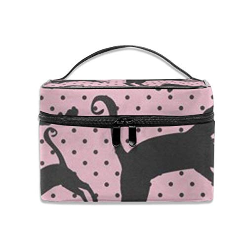 Naughty Black Travel Case Organizer Portable Storage Bag with, Built-in Pocket, Multifunction Case Toiletry Bags