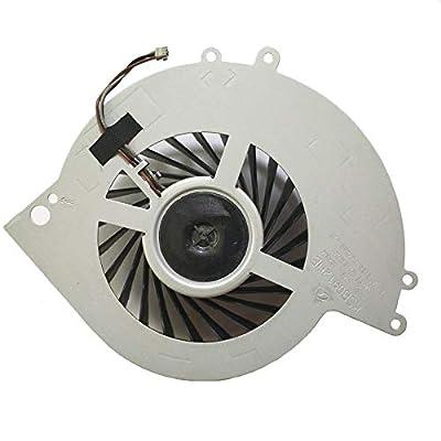 QUETTERLEE New Internal Cooling Fan Compatible Sony PS4 Fan ps4 CUH-1001A CUH-11XX CUH-1000 CUH-1000AB01 CUH-1200AB02 1115A 1115B 500GB Part's Number : KSB0912HE Fan