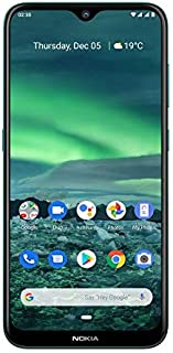 Nokia 2.3 Android 10 Smartphone 2GB RAM, 32GB Storage, Dual Rear Camera, Cyan Green