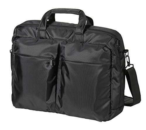 Vivanco NB PROF2 17.3 Business Top Loader Notebook Tasche (43,9 cm (17,3 Zoll), Schloss, Trolleyband, Organizerfunktion) schwarz