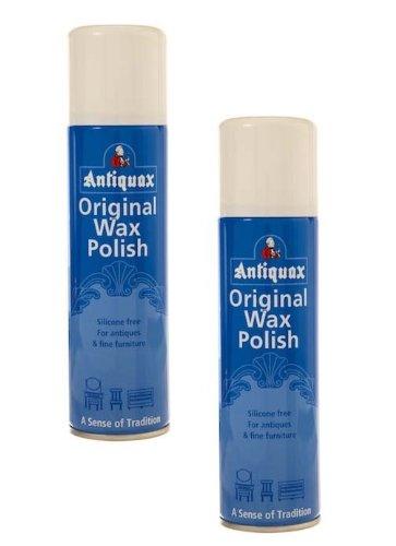 2x Dosen Antiquax–Original Wax Polish Spray–250ml