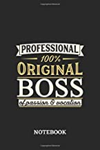 Professional Original Boss Notebook of Passion and Vocation: 6x9 inches - 110 graph paper, quad ruled, squared, grid paper pages • Perfect Office Job Utility • Gift, Present Idea
