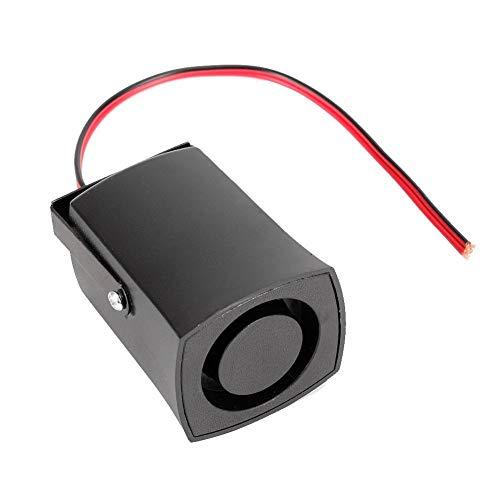 Zumbador Reverse Beeper, 12V 115db Alarma de marcha atrás del coche Retroceso Horn Beeper Zumbador Universal negro