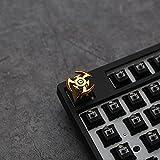 EnweKapu Gaming Keycap, Metal Tapas de Teclas con Giratorio,...