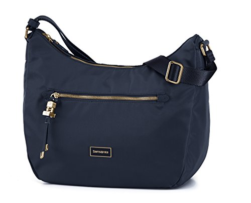 Samsonite Karissa - Schultertasche Medium, 36 cm, blau (Dark Navy)