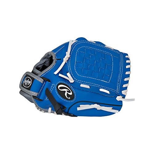 Rawlings  Players Series Gloves, 10.5', Right Hand, Blue/Black/Grey