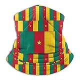 Camerun - Bandera Seaml Bandane, máscara para la cara, bufanda, braga de cuello, braga de cuello para aves al aire libre, deportes, festivales musicales