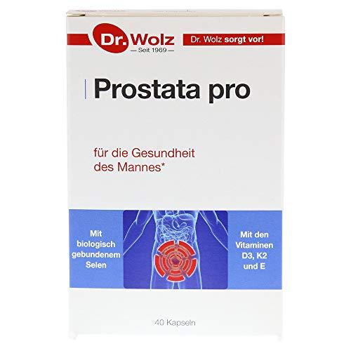 Prostata Pro Dr. Wolz | 40 Kapseln