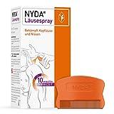 NYDA Läusespray: Erstattungsfähiges Mittel gegen Kopfläuse für Kinder und Erwachsene, 50 ml