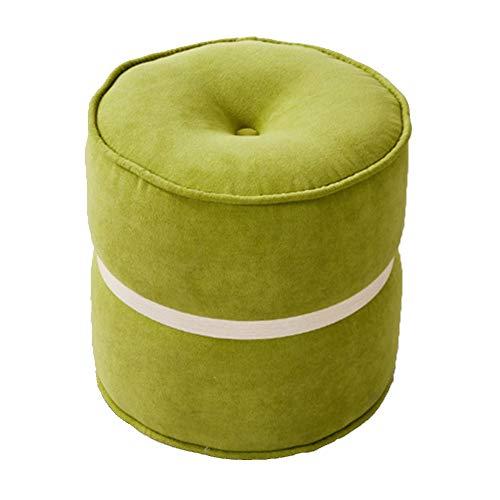 Gewatteerde voetenbankje, gewatteerd voetenbankje, draagbare hoofdstoel, multifunctionele ruimtebesparende, kleine ronde kruk, creatieve schoenen, bank, moderne minimalistische kruk