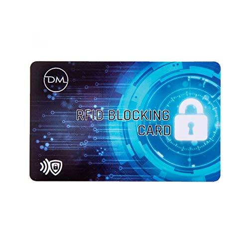 Nuova protezione RFID card, per carte di credito, passaporti, RFID block, blocking card, 4.5cm distanza,