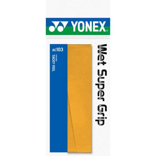 ヨネックス ウェット スーパーグリップ オレンジ 1セット 20本:1本×20パック