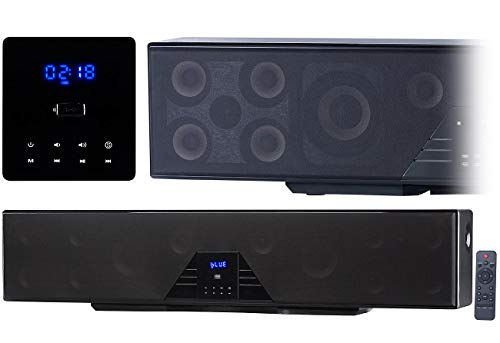 auvisio Soundbox: 6-Kanal-3D-Soundbar, 5.1-Surround-Sound, Bluetooth 4.0, HDMI, 250 Watt (Heimkinosystem)